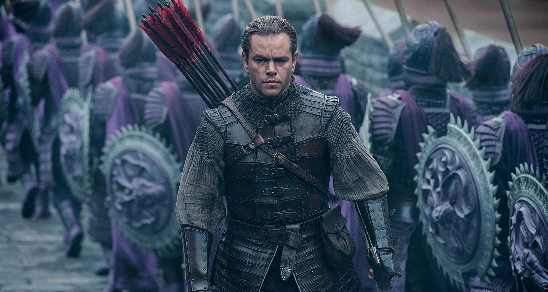 Matt Damon i The great wall.