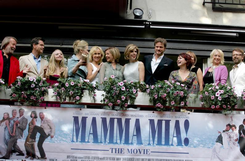 Stjärnspäckat vid den svenska premiären av filmen 2008. Foto: Sanna Sjöswärd