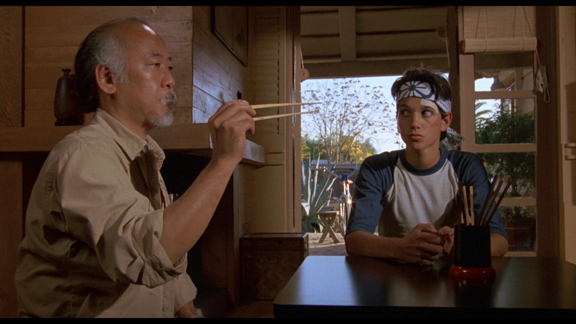 """""""Karate kid"""" (1984)."""