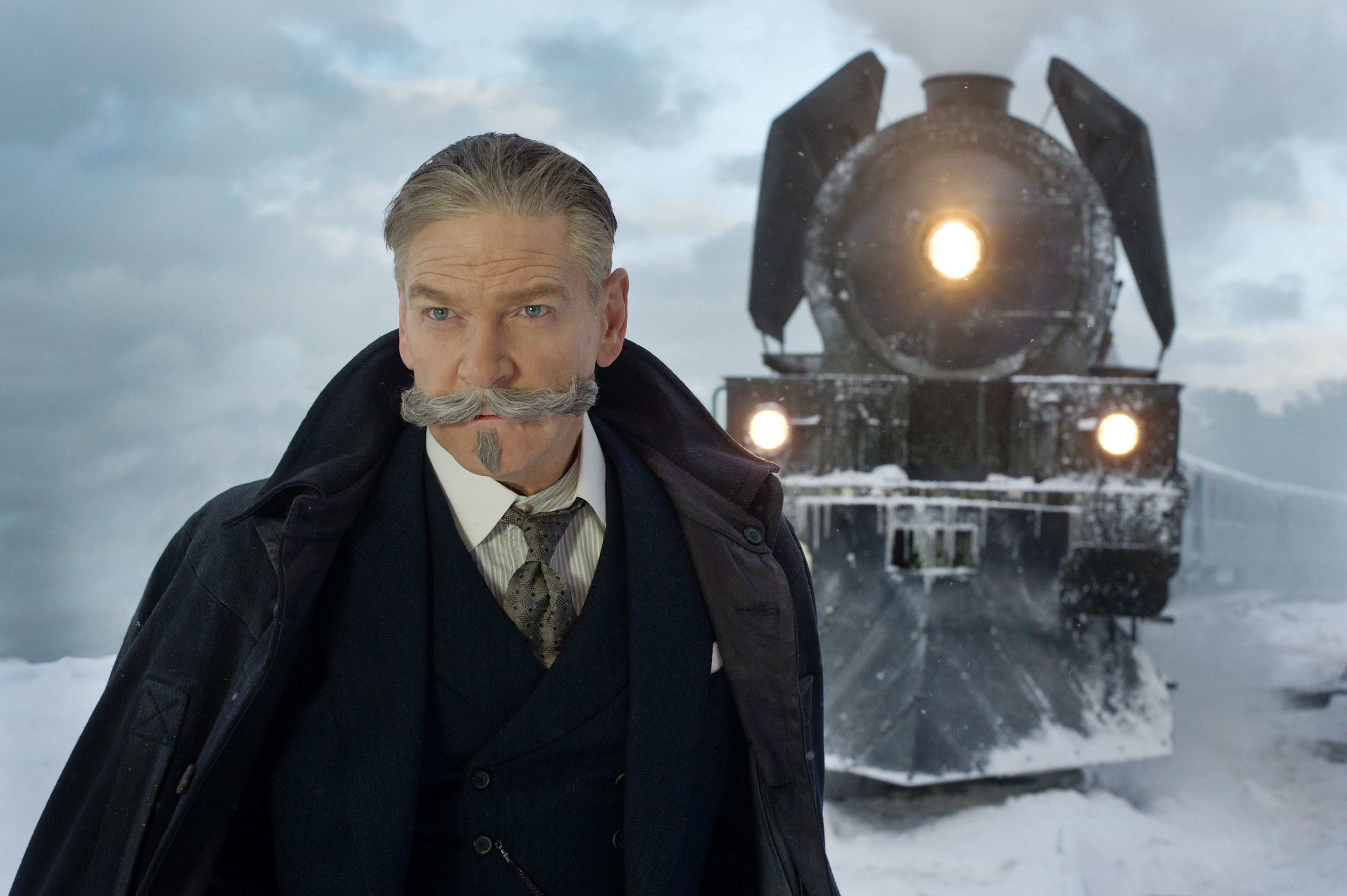 """Kenneth Branagh stars in Twentieth Century Fox's """"Murder on the Orient Express."""""""