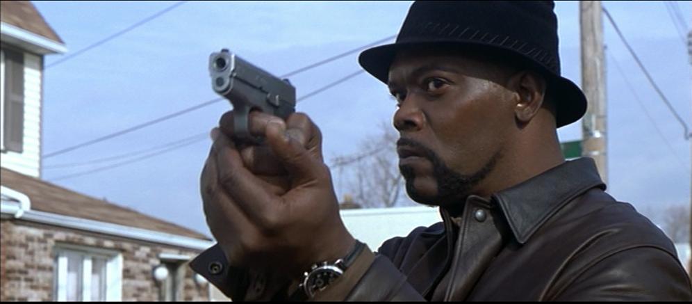 """Samuel L Jackson i """"Shaft"""" (2000)."""
